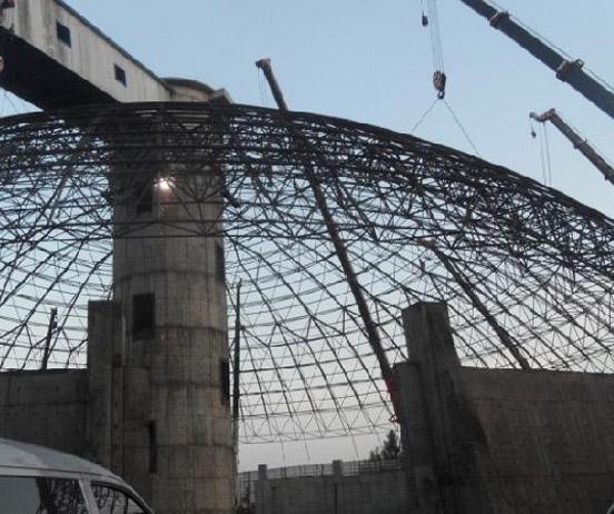 球形网架结构